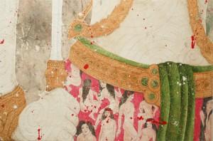 """""""Courage (detail)"""" by Michela Martello"""